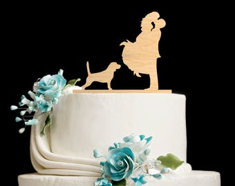 Beagle wedding cake topper,Beagle wedding topper,beagle wedding cake,Beagle cake topper,beagle topper,beagle cake,beagle cake toppers,58817