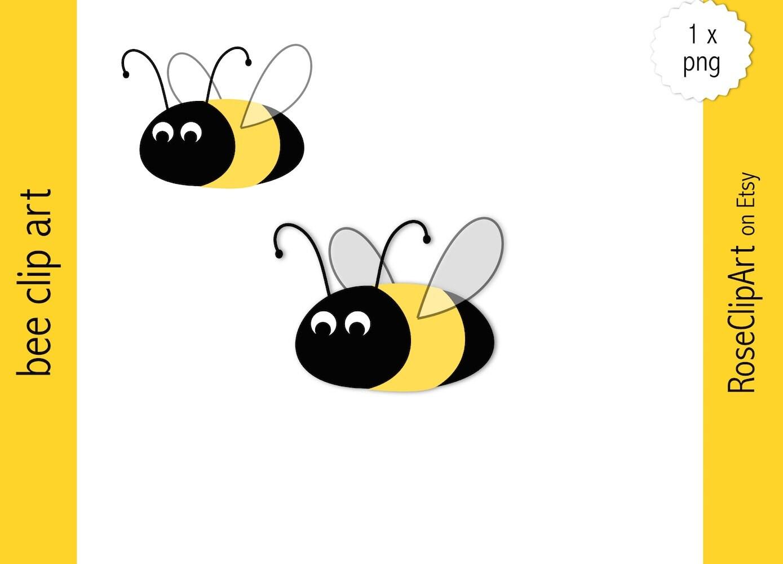 Biene Clipart Sofort Download Gelbe Honigbiene Hummel