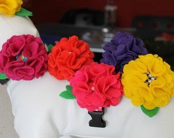Dog Collar Flower,Flower for Dog Collar, Flowers for dog collars,Removable flower for dog collar