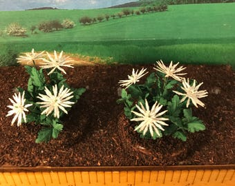 Large Spider Mums - 1:12 scale