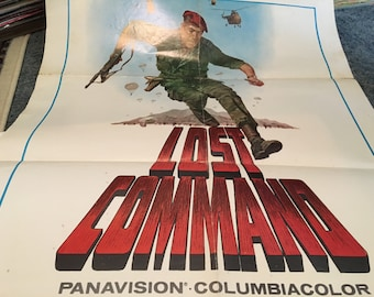 lost command movie poster 27 by 40
