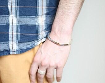 Bracelet half maxim Silver 925 men ring