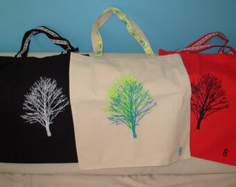 SALE Winter Trees Tote in 3 Colors