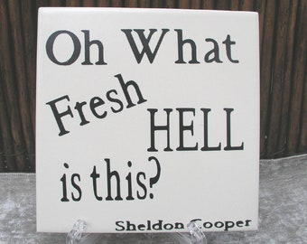 Snarky Sign ~ Fun Signs ~ Funny Quote Signs ~ Ceramic Signs ~ Funny Gift Sign ~ Sarcastic Sign