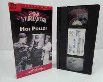 The Three Stooges Hoi Polloi VHS Tape