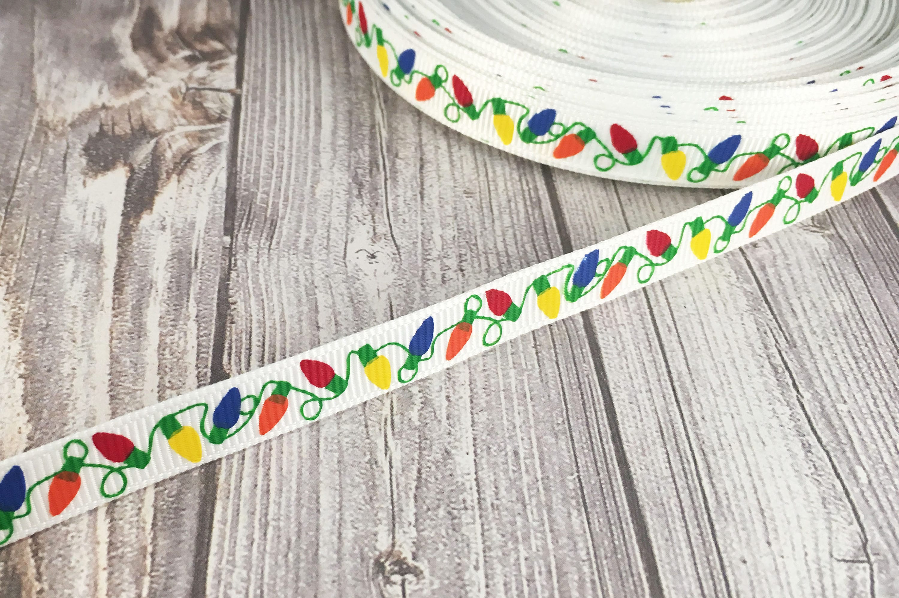 Christmas light ribbon 38 christmas ribbon christmas crafts 290 shipping solutioingenieria Image collections