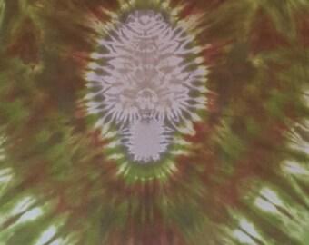 XL Morel Mushroom Tie Dye T-Shirt