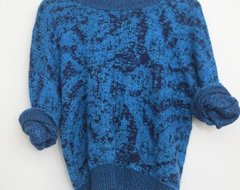 Sparkly Blue Vintage Sweater