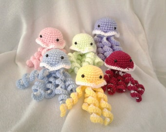Cuddly animal jellyfish for newborn babies