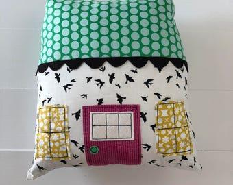 House Pillow - Birds
