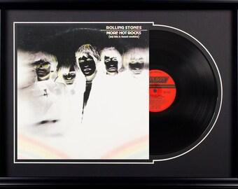 Rolling Stones More Hot Rocks Vintage Album Deluxe Framed