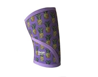 Pineapple Print Knee Sleeves