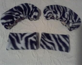 Zebra Crutch Covers