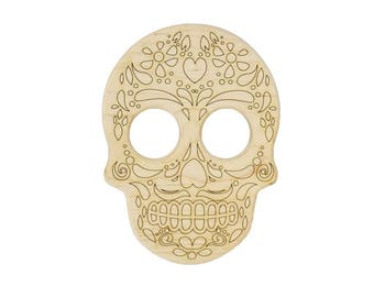 Dia De Los Muertos - Sugar Skull Wooden Teether - Day of the Dead - Disney Coco