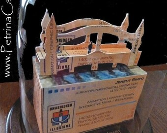 Bridge 3D Business Card Sculpture -Design 10567