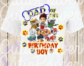 Paw Patrol Custom Shirts