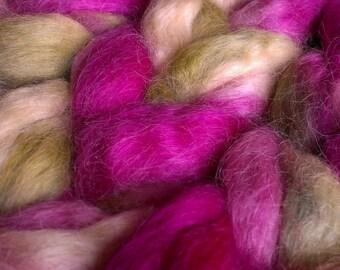 Clover Heath, Wensleydale wool top / roving