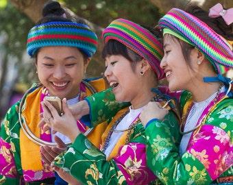 Vietnam Hmong People Portrait photograph Fine Art Print Wall Art Travel Photography Maadat Street Photography 4x6 8x12 12x18 16x24 20x30