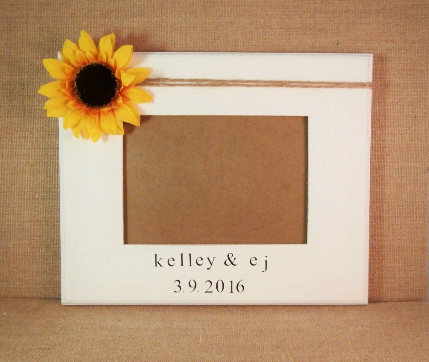 Sunflower gift, wedding gifts for couple gift ideas, personalized ...