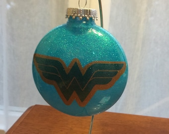 Wonder Woman Inspired Ornament