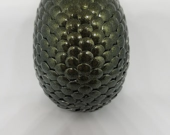 Forest Green Dragon Egg.