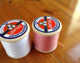 2 Spools of Vintage Sylko Thread