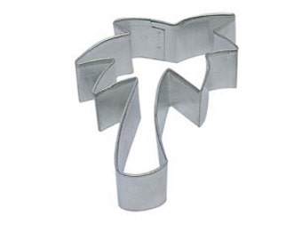 """5"""" Palm Tree Cookie Cutter tropical beach party"""