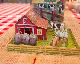 Charlotte's Web Wendy's Kids Meal #D Puzzle 2006