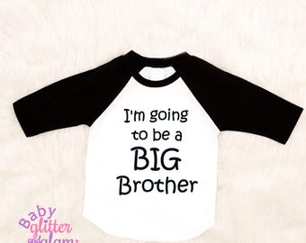 Big Brother Shirt, Promoted to Big Brother, Big Brother, Pregnancy Announcement, Brother Shirt, Going to be a Big Brother
