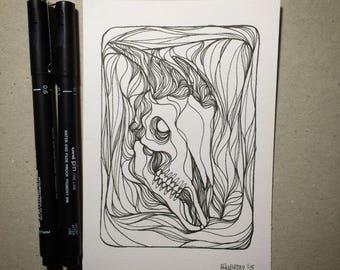 Inktober 2015 Day #18 - (Original drawing)