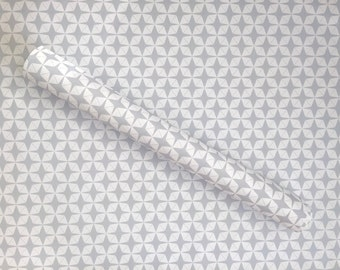 Grey Mod Wrapping Paper Sheets
