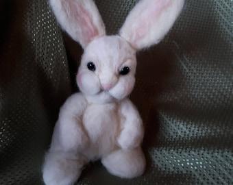 Needle Felted Easter Rabbit