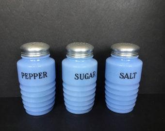 Delphite Shakers Salt - Pepper -