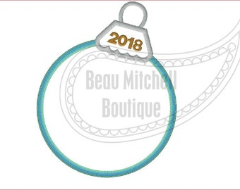 Ornament 2018 applique