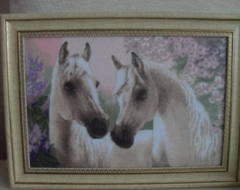 "cross stitch, вышивка  ""Arabian Horse"""