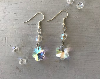 Faerie Queen - Crystal Earrings
