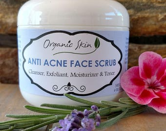 Anti Acne Face Scrub