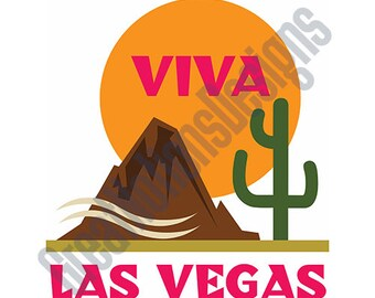 Viva Las Vegas SVG - HTV - Vinyl Cutting Graphic Art