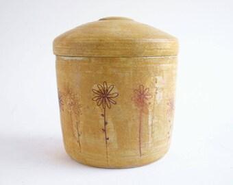 Medium Field of Daisies Dog Urn - dog urn, cremation, dog, dogs, cat urn