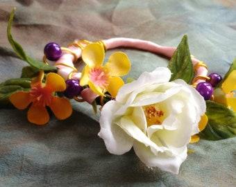 BJD Spring Flower Crown