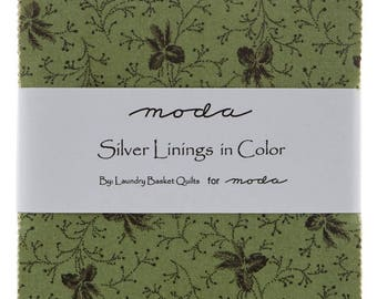 Silver Linings In Color - Charm Pack