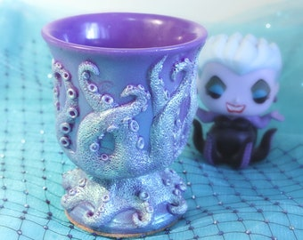 OCTOPUS TENTACLE Cup in Lavender DUOCHROME