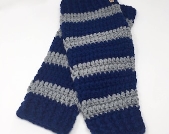 Magical School leg warmers, handmade crochet || Adult || Ready to Ship