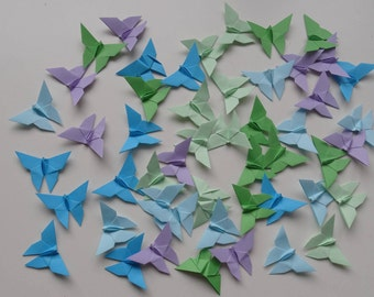 50 Origami Butterflies