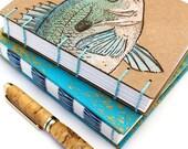 Fish Journal - Hand Paint...