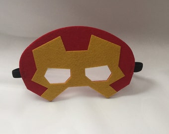 Iron Man Mask Avengers Birthday Party Favors Superhero Costume Capes Kids Costumes Dress Up Cosplay Marvel Masks