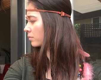 Hippie headband . Native American jewellery . American Indian Jewellery . Headpiece . Boho . headdress , hippie . Hairpiece .