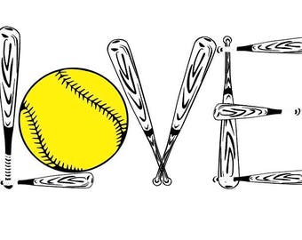 Softball Raglan, Love