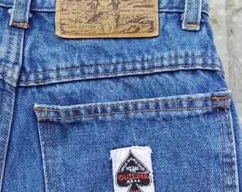 High waisted shorts Denim Shorts high Waisted shorts Vintage denim shorts Outsider denim shorts waist Vintage daisy dukes 26 inches Nr. 26
