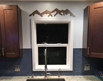 Colorado artwork, Mountain ranges, Kitchen decor, Wall decorating, Farmhouse style, Master bedroom decor, Colorado wall decor, Snowboard,Ski